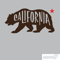 Super 7 T- Shirt - California Bear