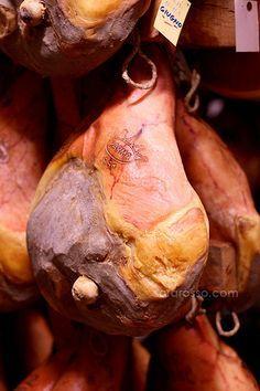 Prosciutto Crudo Ham from Parma, process complete