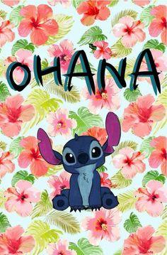 ohana significa familia y tu familia nunca te abandona ♥