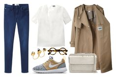 """""""#1488 - Another working day"""" by kelly-m-o ❤ liked on Polyvore featuring Acne Studios, NIKE, Fendi and Niza Huang"""