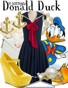 Disney Bound - Donald Duck