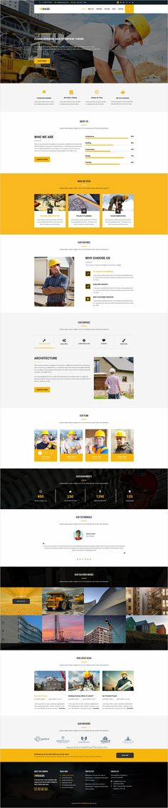 TopBuilder is a wonderful 2 in 1 #Photoshop #template for Building and #Construction company website download now➩ https://themeforest.net/item/topbuilder-construction-building-psd-business-template/18484615?ref=Datasata