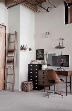 Wood + Black + White + Chrome