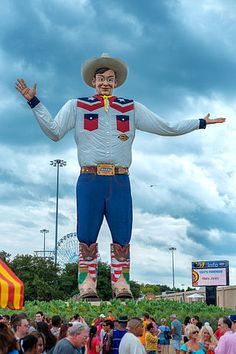 You can't talk about life in Dallas without mentioning Big Tex, he is a fan favorite at our State Fair each fall