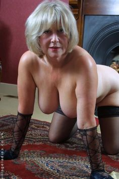 Haired mature milf sexy gray