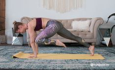 Here Are 5 Ways to Turn Your Yoga Sesh Into a Cardio Workout A cardio workout is any activity that moves your body and elevates your heart rate. Here is how to turn 5 yoga poses into a kick a** cardio workout! Hiit Workout Routine, Barre Workout, Yoga Routine, Workout Ideas, Cardio Yoga, Yoga Workouts, Denise Austin, Power Walking, Yoga Beginners