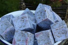 lavender home made soaps from the french market in Melbourne Australia
