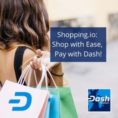 Shopping. io: Shop with Ease, Pay with Dash! Shopping. io means one stop shopping from a huge selection followed by quick and easy payments with Dash. Thanks for reading! #dash #dashnation #bluehearts💙 #bitcoin #blockchain #crypto #defi Digital Wallet, How To Run Longer, First Step, Blockchain, Finance, The Selection, Thankful, Reading, Easy