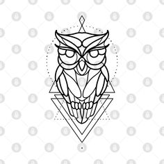 Check out this awesome 'Linework+owl+design' design on Buddhism Tattoo, Owl Tattoo Drawings, Tattoo Arm Designs, Line Work Tattoo, Permanent Tattoo, Traditional Tattoos, Mini Tattoos, Arm Tattoo, Blackwork