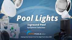 How to Select Inground Pool Lights Inground Pool Lights, Swimming Pool Lights, Swimming Pools, Floating Pool Lights, Spa Lighting, Night Time, Entertaining, Pools, Swiming Pool