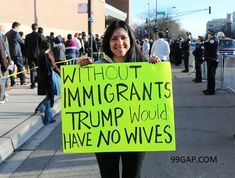 #Funny protest Signs Collection From Around The World