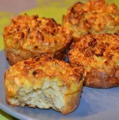 Muffin au yaourt et flocons d'avoine