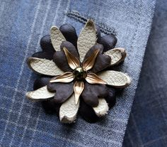 DIY boutonniere miracle: magnetic boutonniere backs - Offbeat Bride
