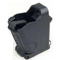I just used this last weekend  Butler Creek Maglula UpLULA Magazine Speed Loader 9mm-.45 ACP 24222 UP60B follow this link click here http://bridgerguide.com/butler-creek-maglula-uplula-magazine-speed-loader-9mm-45-acp-24222-up60b/ for much more detail about it. Thanks and please repin if you like it. :)