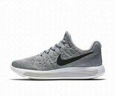 c296f29dedec Nike Lunarepic Low Flyknit 2 Womens Running Shoes 10 Wolf Grey Black   Platinum  RunningShoes