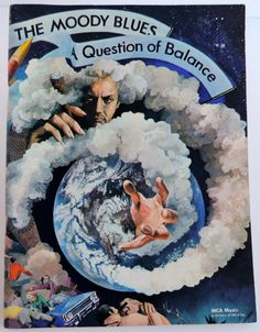 Vintage Moody Blues A Question of Balance Music Song Book (1970) MCA Sheet Music Lyrics for Piano Guitar