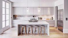Cucine bianche - Cucina country bianca | Kitchens, Kitchen design ...