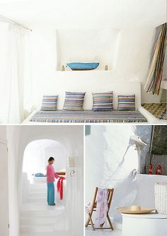 summer house on ponza, italy by the style files, via Flickr