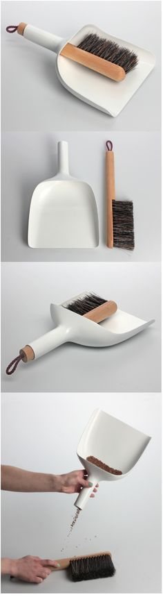 'Sweeper and dustpan' by Jan Kochański (2013) #INJECCIO (feel like I'm getting old because I'm really impressed by this!)