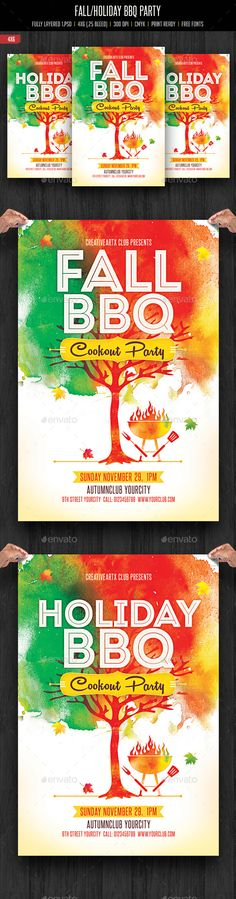 Free BBQ Party Flyer Template - http\/\/freepsdflyer\/free-bbq - bbq flyer