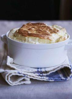 Cheese Soufflé Recipe by Giada De Laurentiis   www.giadaweekly.com @gdelaurentiis