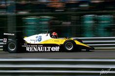 Eddie Cheever 1983, Renault  RE40