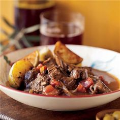 it's almost time for stew again | Beef Braised with Mushrooms