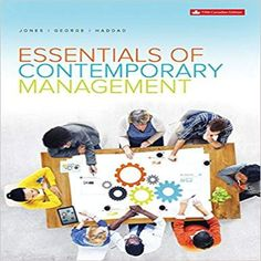 Solution manual for cornerstones of managerial accounting 6th 9781259088780 1259088782 essentials of contemporary management canadian 5th edition by gareth r jones jennifer m fandeluxe Choice Image
