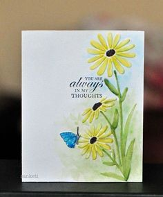images darice daisy embossing folder | ... embossing folder is from Darice called 'Large Daisy'. Then she used