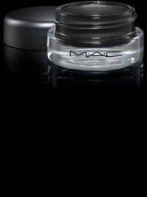 MAC CHROMA LINE    A must have in your makeup kit. It can be applied light or heavily to mimic pencil or liquid liners. It is waterproof even on the water line! It is black black. LOVE
