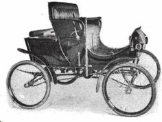 1901 Steamobile Runabout Automobile