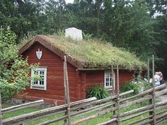 Skansa - a rote soldier's house