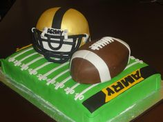 Army Cake for Army-Navy Football Game.