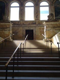 Main Stairway, Boston Public Library. Photo Carly Carson