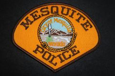 Mesquite Police Patch, Clark County, Nevada (Vintage)