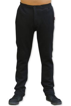 Chillout Pants : Black Unisex chillout pants. Chill in style ! Super comfy pants for those chill times. Can be worn at home or out and about. Made from a soft fleece fabric with a semi-elasticated waist for a great fit. Button and zip front closing. 2 Side pockets & 2 back pockets. Cotton/poly blend fleece fabric. Artwork by Space Tribe