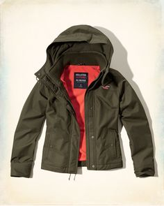 Hollister All-Weather Jacket | @giftryapp