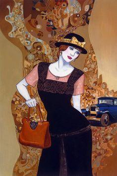 Helen Lam ~ Art Déco painter