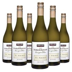 Kirkland Signature Marlborough Sauvignon Blanc 2011, 6 x 75cl Case