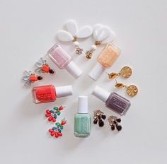 An essie color for every one of your summer accessories.
