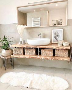 Minimalist Bathroom Inspiration, Minimalist Bathroom Design, Simple Bathroom Designs, Bathroom Interior Design, Minimalist Home, Zen Bathroom Design, Minimalist Small Bathrooms, Nature Bathroom, Zen Bathroom Decor