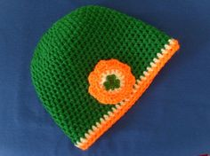 Baby/Childs St Patricks Day hat...for the wearin' of the green by Jamina Rose