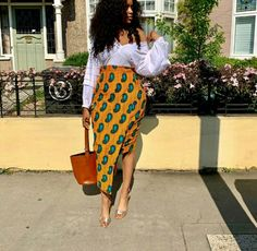 African Inspired Fashion, Latest African Fashion Dresses, African Dresses For Women, African Print Fashion, African Attire, African Fashion Traditional, African Print Skirt, Bodycon Dress With Sleeves, Outfits