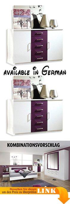 B00QZR5ED0  Sideboard Anrichte TV-Schrank im Landhausstil - schlafzimmerschrank landhausstil weiß