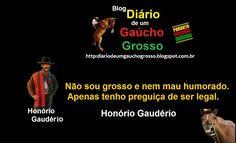 Diário de um Gaúcho Grosso: DECLARAÇÃO DE HONÓRIO GAUDÉRIO