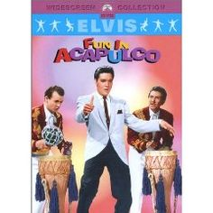 FUN IN ACAPULCO is pure Elvis Presley movie fun! From 1963, it's not quite as cheesy as some of his later films, but rather cute. Ursula Andress co-stars.