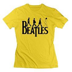 Nana-Custom Tees - Camiseta - para mujer Negro amarillo XL #regalo #arte #geek #camiseta