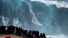 Biggest Waves Ever Surfed - Nazaré. April 8, 2016. The waves at Praia do Norte, Nazaré, are famed for being among the largest in the world. On November 2011, surfer Garrett McNamara surfed a record-breaking giant wave: 78 feet (23.8 m). On 28 January 2013, McNamara returned to the spot and successfully surfed a wave that appeared even larger (waiting an official measurement).