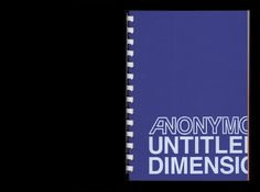 Anonymous, untitled, dimensions variable. Design by Qubik