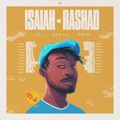 """Isaiah Rashad announces """"Lil Sunny"""" Tour #isaiahrashad #isaiahrashadTour #isaiahrashad2017 #LilSunny #LilSunnyTour"""